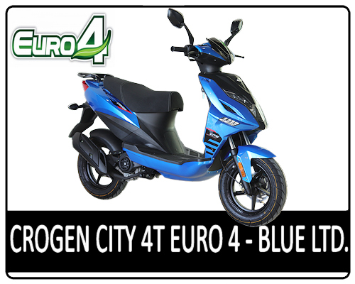 Motowell Crogen City 4T Blue Limited - EURO4