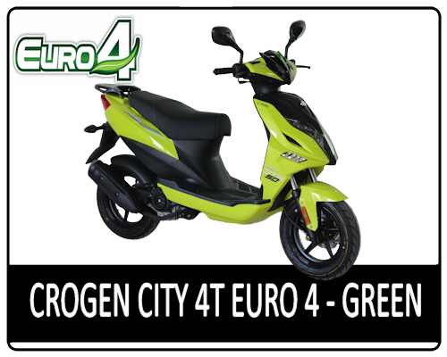 Motowell Crogen City 4T Green - EURO4