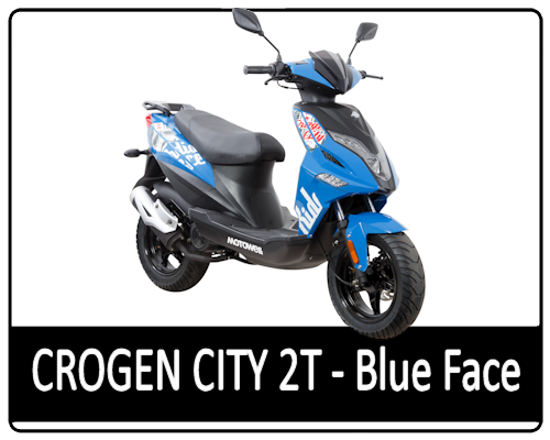 Motowell Crogen City 2T Blue Face