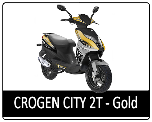 Motowell Crogen City 2T Gold