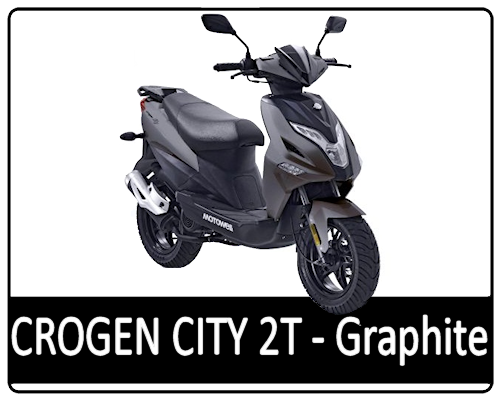 Motowell Crogen City 2T Grafit