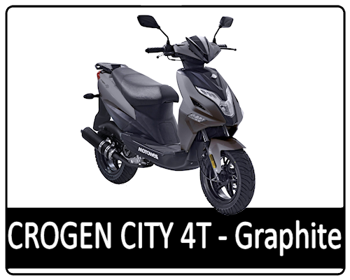 Motowell Crogen City 4T Grafit