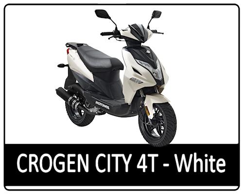 Motowell Crogen City 4T Fehér