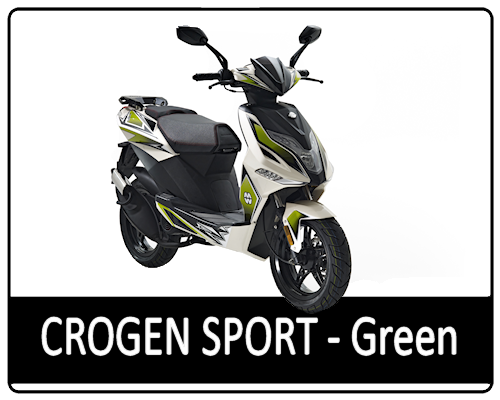 Motowell Crogen Sport zöld