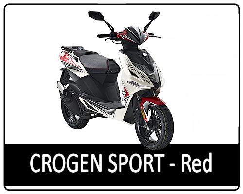 Motowell Crogen Sport piros