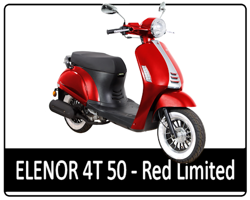 Motowell Elenor Limited Red