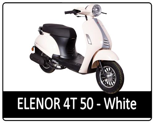 Motowell Elenor fehér