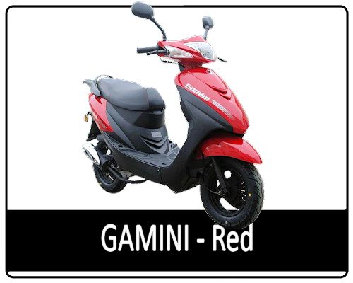 Motowell Gamini Red