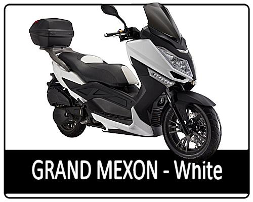 Motowell Grand Mexon 125 4T fehér