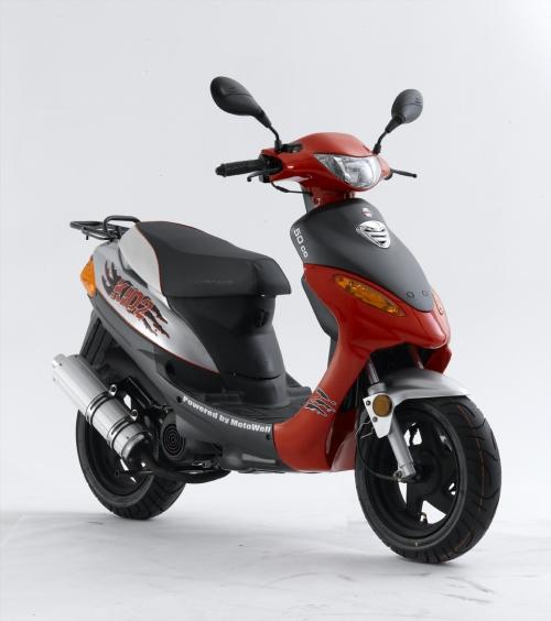 Motowell KID2 - Piros