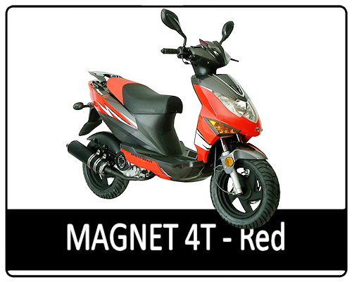 Motowell Magnet 4T Piros