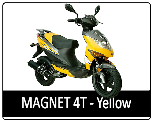 Motowell Magnet 4T Sárga