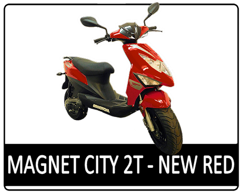 Motowell Magnet City 2T New Red