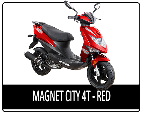 Motowell Magnet City 4T New Red