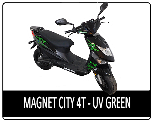 Motowell Magnet City 4T UV Green