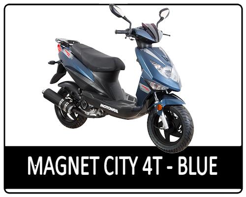 Motowell Magnet City 4T Metál kék