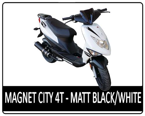 Motowell Magnet City 4T matt fekete