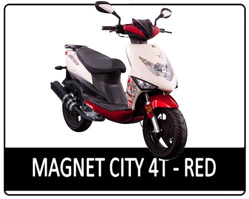 Motowell Magnet City 4T Burgundy
