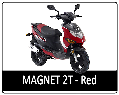 Motowell Magnet 2T piros