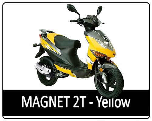 Motowell Magnet 2T sárga