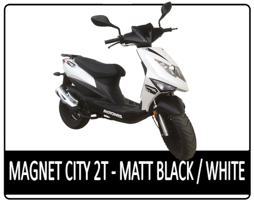 Motowell Magnet City 2T Matt Black