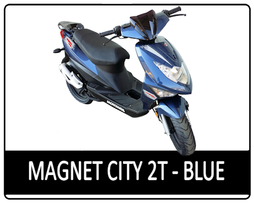 Motowell Magnet City 2T Metal Blue