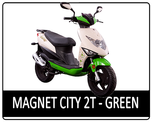 Motowell Magnet City 2T Green