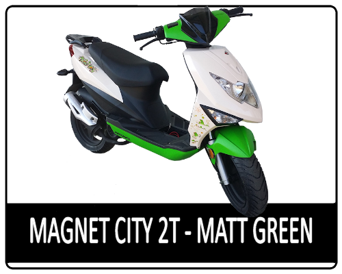 Motowell Magnet City 2T Matt Green