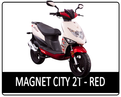 Motowell Magnet City 2T Red