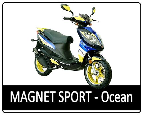 Motowell Magnet Sport - Ocean
