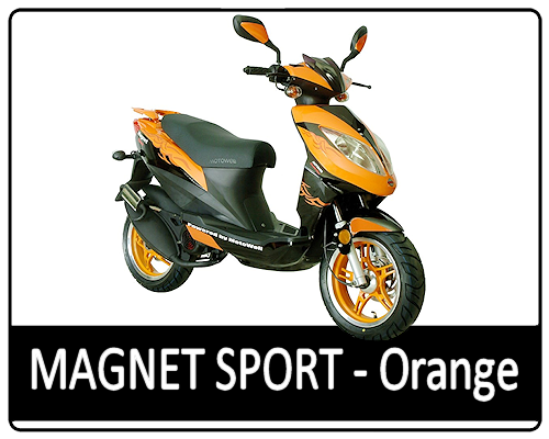 Motowell Magnet Sport - Orange