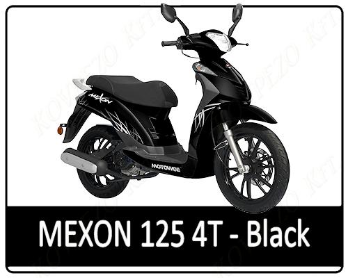 Motowell Mexon 125 4T Black