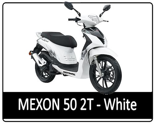 Motowell Mexon 50 2T White