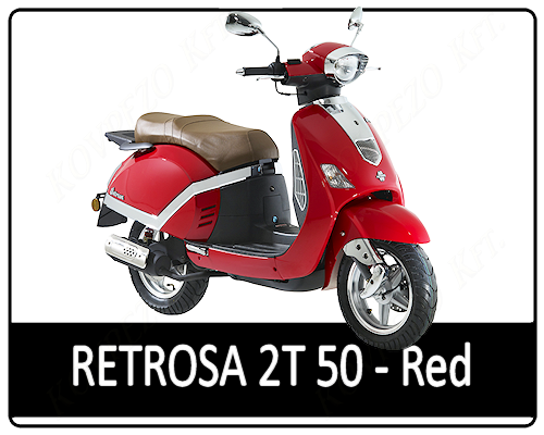 Motowell Retrsa 50 2T Red
