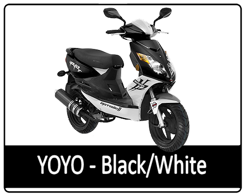 Motowell Yoyo Black-White
