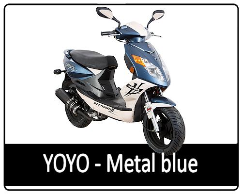 Motowell Yoyo Metal Blue
