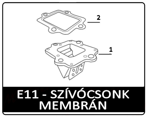 Motowell Magnet RS membrán